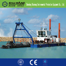 China sand jet suction digging dredger/ boat/ ship/ vessel for sale