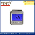 ABS housing blue light digital room thermostat temperature controller for fan coil