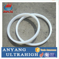 wear resistant UHMW round plastic ring spacers
