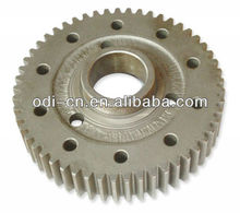 ISO OEM aluminum/steel/stainless steel customized straight spur gear w/ holes for printer