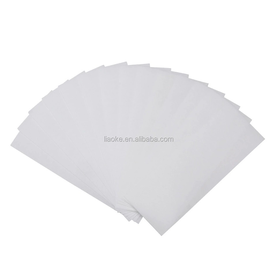 Wholesale Nonwoven Depilatory Paper Disposable Wax Strip Hair Removal Depilatory Paper
