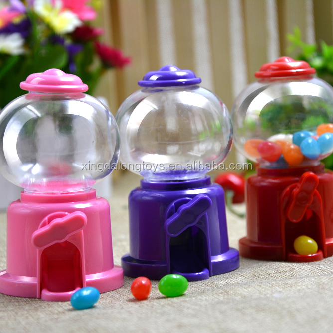 Funny Candy Dispenser Twist Candy Machine Plastic Candy Toys