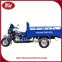 KAVAKI brand best cheap 1.1*1.6m carriage box three wheel cargo tricycle of guangzhou