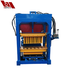Good quality semi automatic hydraulic engine block boring machine/6 inches hollow block making machine