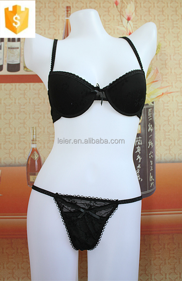 High Quality New Design Underwear Sexy Bra Set For Young Ladies