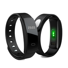 QS80 smart bracelet with Blood Oxygen, Fatigue, Blood Pressure, Heart Rate monitors. Health monitor smart watch