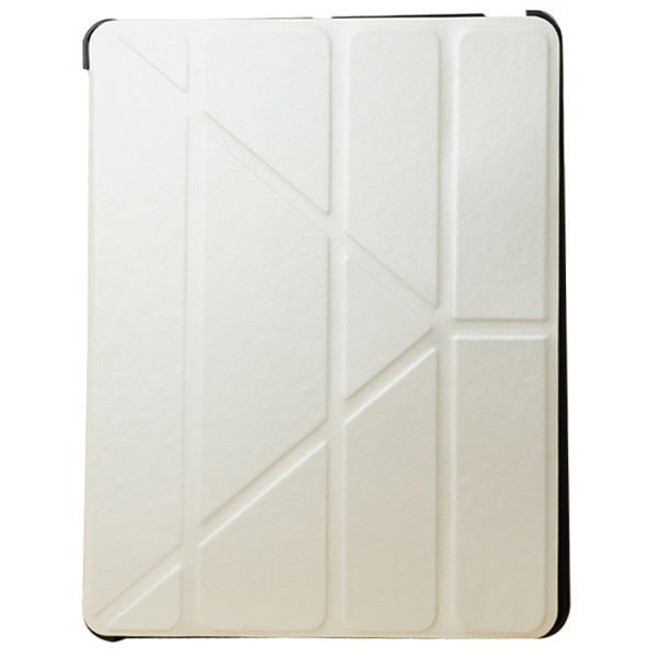 White For iPad Air Prada Lines Leather Case