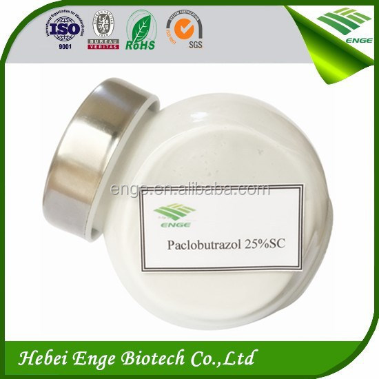 Paclobutrazol 25% SC Growth hormone, plant prometor, plant growth regulator on sale