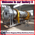 Biomass material rotary dryer for briquette equipment