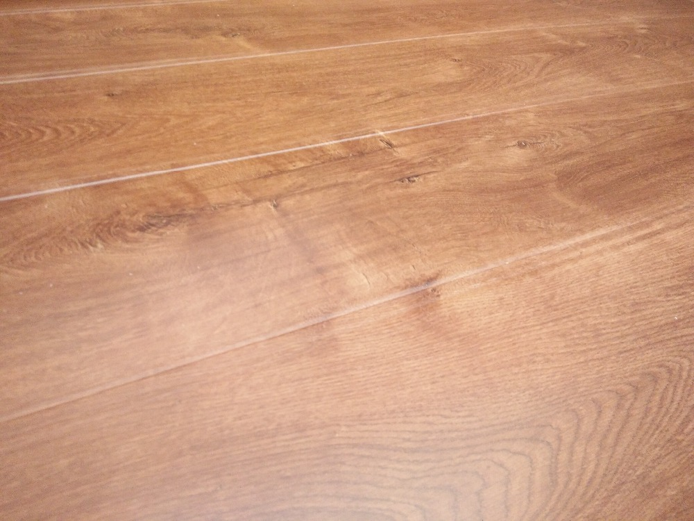 Interiro decorative Matte 2mm eva soundproof 12mm laminate wood flooring for commertical use