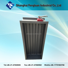 High Quality Normally Closed HVAC Full-automatic Smoke Exhaust & Fire Proof Damper