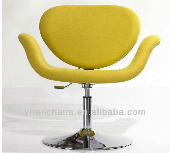 fabric soft swan chair for relax