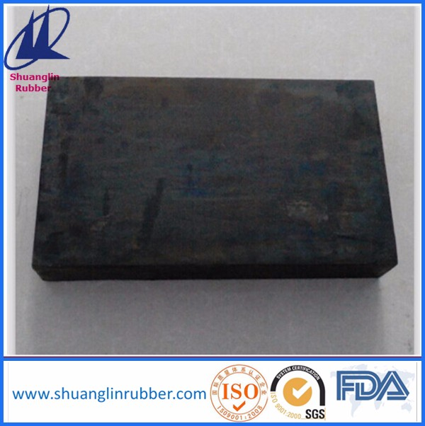 Laminated elastomeric ruber bearing pad