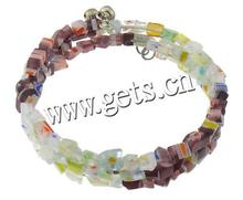 Lampwork Other Shape Custom Rubber Bands Hollow Silicon Bracelet 748150
