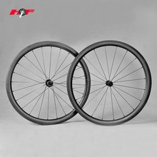 Cheapest 700c wheels carbon, full carbon fiber 40mm wheelsets for both tubular & clincher China
