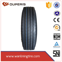 Tubeless truck tire from wanlining group with Dot ECE Gcc Iso