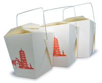 Take Away food Box with multiple sizes