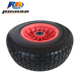 16 Inch Puncture Proof Solid Flat Free Wheel 16x6.50-8