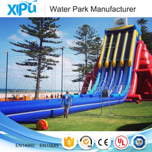 giant inflatable water park slide for adult above ground commercial sports games slides