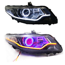 For Honda City 09-12 Turn Signal t+Angle Demon Halo LED Light Stripe C