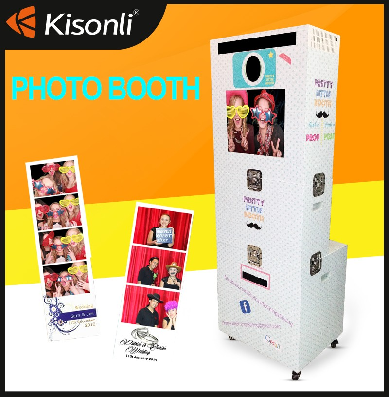 Portable Advertising Photo Kiosk Photo Booth In Wedding, Party, Events Rental <strong>Service</strong>
