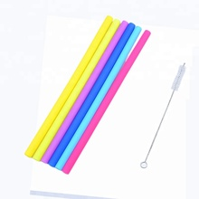 Smoothie Wholesale Reusable Drinking Silicone Straws