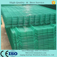 pvc welded wire mesh sheet/galvanized bended fencing panel welded wire mesh Specification
