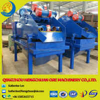 Energy Saving Dewater and Desliming Linear Vibrating Screen