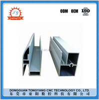 Produce high precision cnc parts aluminum window frame extrusion for sale