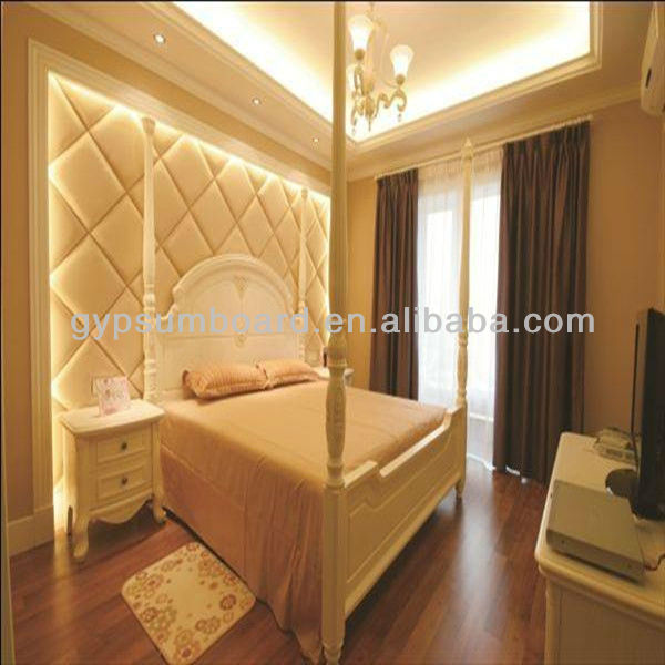 fireproof wall covering fiberglass board decorative melamine board/decorative acoustic panel wall