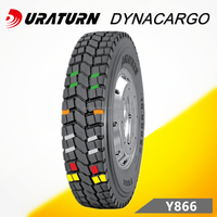 Duraturn deep tread strong sidewall structure TBR 12.00R20 off road for Ukraine market