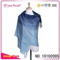 Acrylic Two Color Tone Pashmina Scarf
