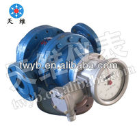 PD fuel flow meter/Heavy oil Helical Rotor Flow Meter