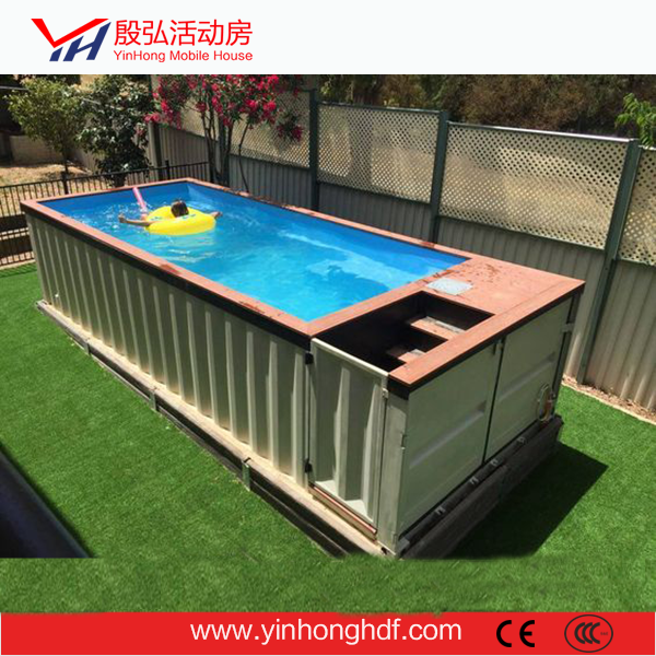 Summer Cool Container Swimming Pool House