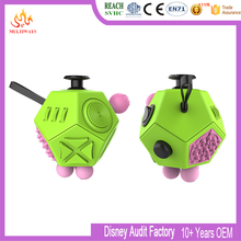 Wholesale PVC and ABS material anti stress cube Fidget Cube