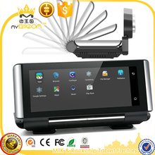 "6.86""4G Android Car DVRs GPS Navigator ADAS Driving Alarm Systems with Spoken Turn-By-Turn Directions,with Rear view Camera"