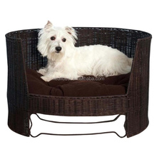 2016 rattan wicker pet dog cages and pet supplies house for cat