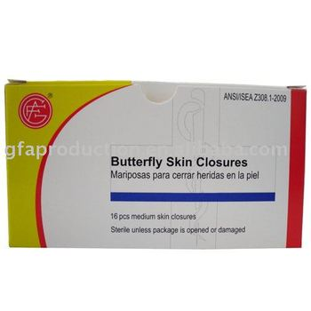 Butterfly Skin Closures