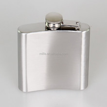 6OZ 304 (18/8) stainless steel hip flask