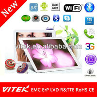 8 inch Android Tablet 8G Flash 1GB DDR Rockchip Driver