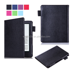 2016 new kindle, leather cover leather case OEM for all kindle