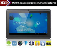 2013 the New 7 inch Allwinner A23 dual core wifi tablets 512M/4G WIFI Android tablet pc