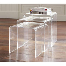 Home Decoration Acrylic Furniture / Clear Coffee Table Cheap