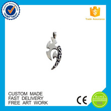 China manufacturer stainless steel pendant necklace custom