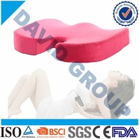 Coccyx Orthopedic Comfort Foam Seat Cushion For Office/Home Use or Memory Foam Gel Seat Cusion