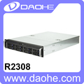 2U 8*2.5''/3.5'' HDD with 600W Power Supply Storage Server Case