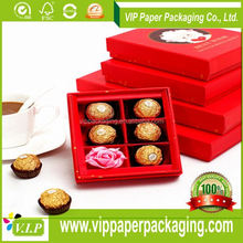 LOWER PRICE LUXURY PAPER GIFT PACKAGING HEART SHAPED CHOCOLATE BOX