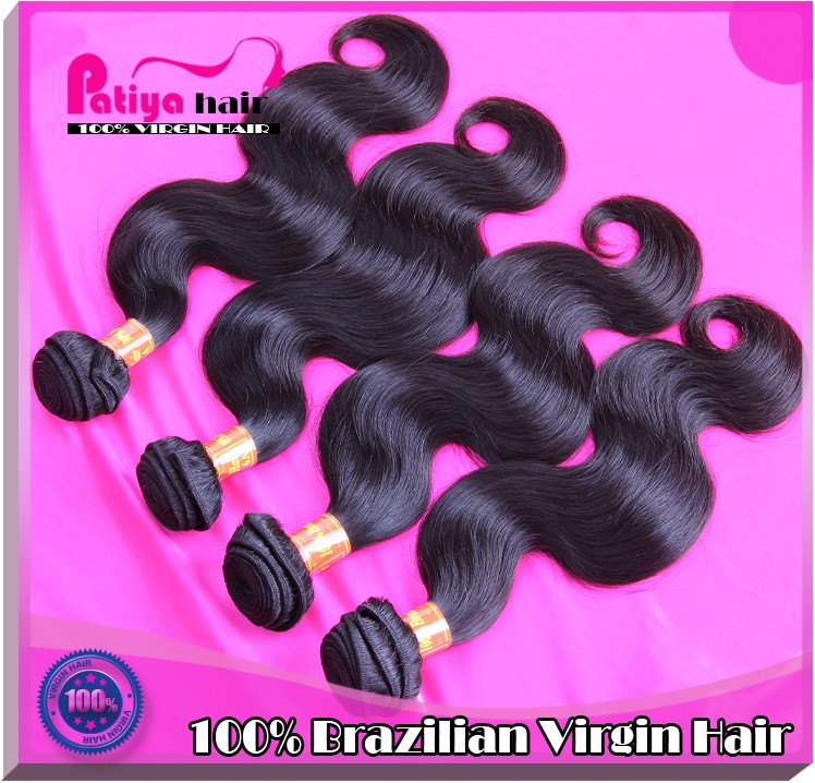 Top quality full ends double weft Brazilian big wave free sample hair bundles body wave virgin human hair