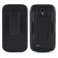 Future Armor Impact Holster Kickstand Combo Case for galaxy S4