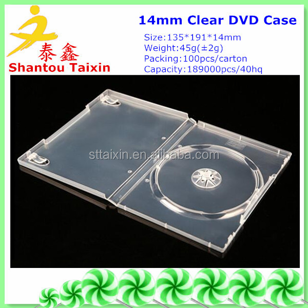 14mm wedding cheap dvd case